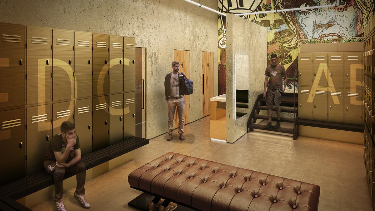 Seven Gym Dubai Edge Architects Architecture