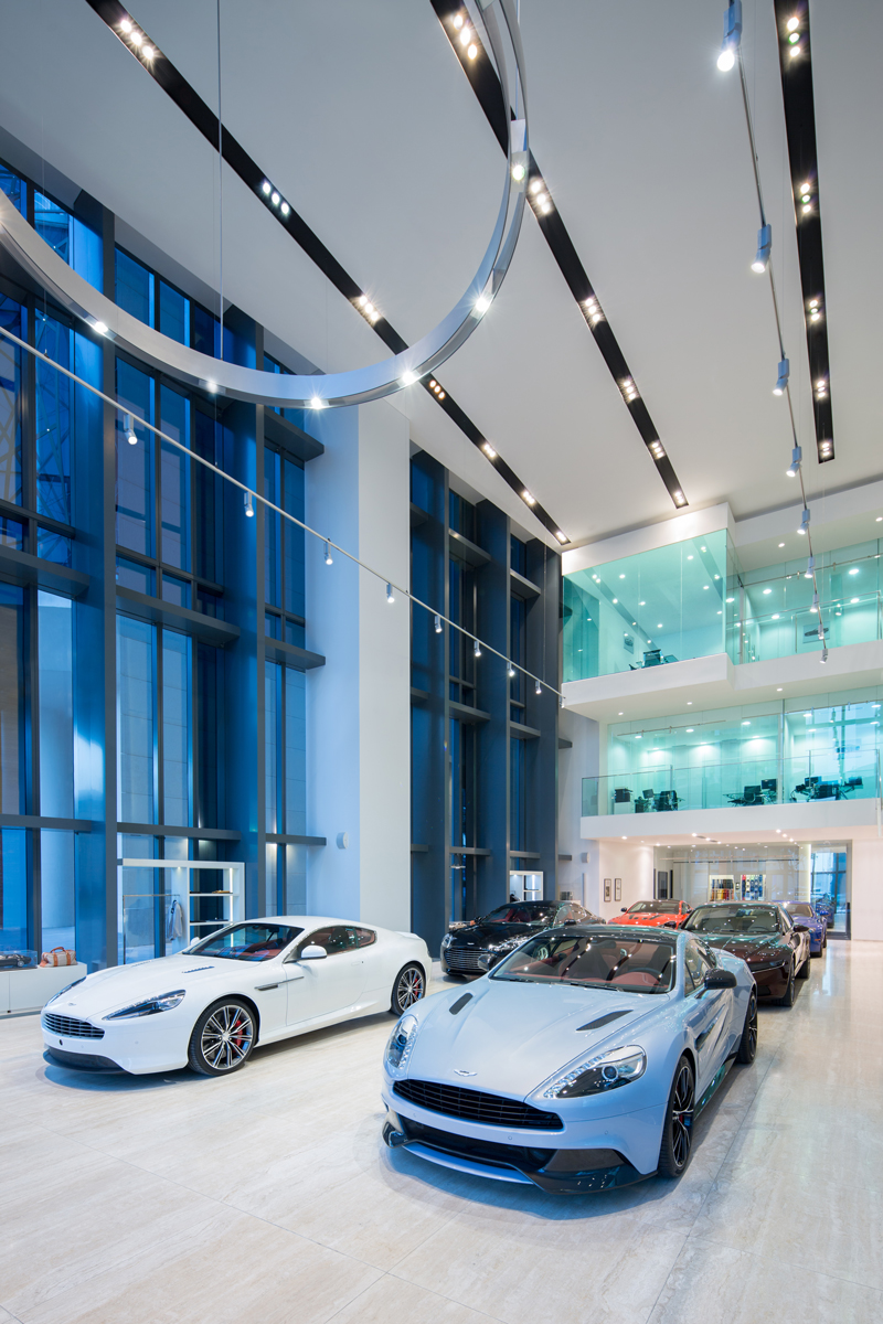 Aston Martin Showroom Dubai Edge Architecture Masterplanning