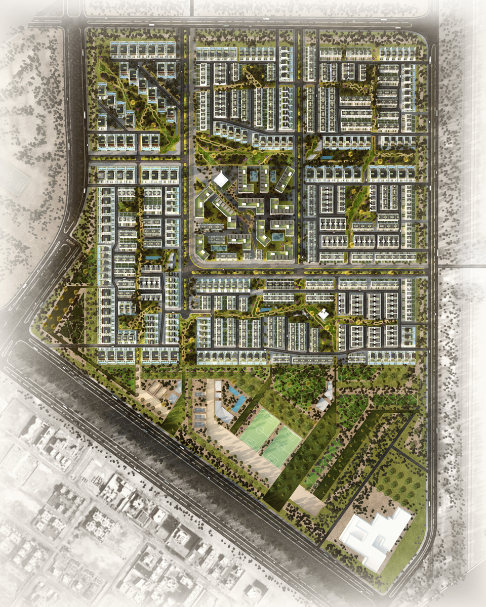 Sustainable Masterplan by EDGE Architects